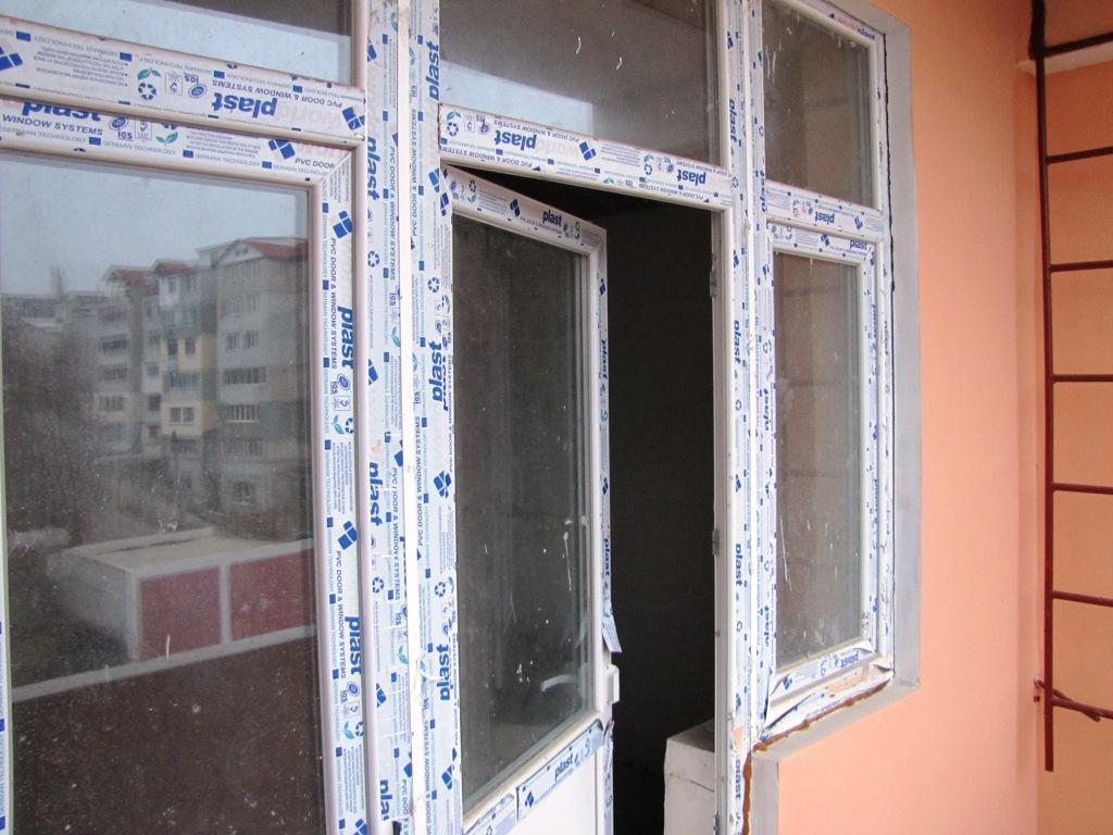 Balcon vederea exterioara a casei
